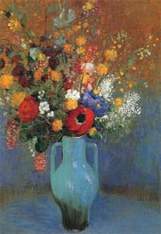 Bouquet of Wild Flowers | Odilon Redon | Painting Reproduction