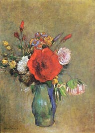 Vase of Flowers | Odilon Redon | Gemälde Reproduktion