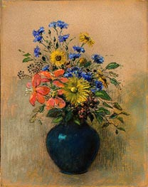 Wildflowers | Odilon Redon | Gemälde Reproduktion