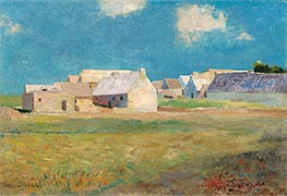 Breton Village | Odilon Redon | Painting Reproduction