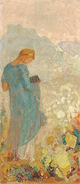 Pandora | Odilon Redon | Painting Reproduction