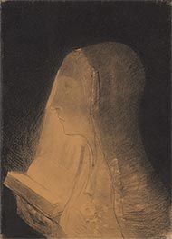 The Book of Light | Odilon Redon | Painting Reproduction