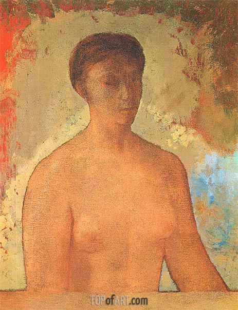 Eve, 1904 | Odilon Redon | Painting Reproduction
