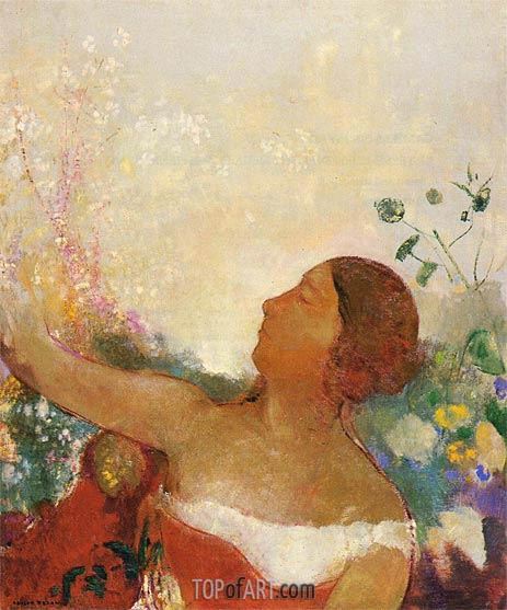 Predestined Child, c.1904/05 | Odilon Redon | Painting Reproduction