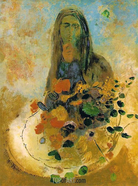 Mystery, Undated | Odilon Redon | Painting Reproduction
