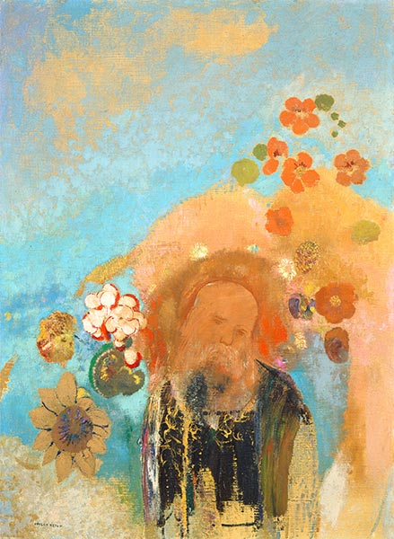 Evocation of Roussel, c.1912 | Odilon Redon | Painting Reproduction