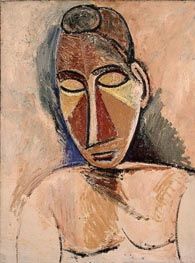 Nude (Bust) | Picasso | Painting Reproduction
