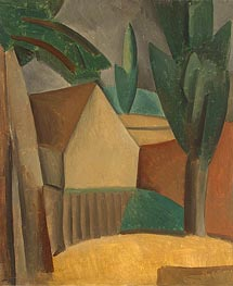 House in a Garden | Picasso | Painting Reproduction