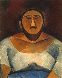 Farm Woman (Half-Length) | Picasso | Gemälde Reproduktion