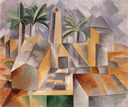 Brick Factory at Tortosa | Picasso | Painting Reproduction