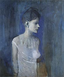Girl in a Chemise (Madeleine), c.1904/05 by Picasso | Painting Reproduction