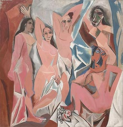 Les Demoiselles d'Avignon, 1907 by Picasso | Painting Reproduction