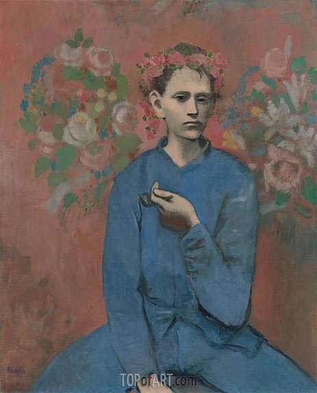 Boy with a Pipe (Garcon a la Pipe), 1905 | Picasso | Painting Reproduction