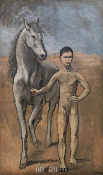 Boy Leading a Horse, c.1905/06 | Picasso | Painting Reproduction