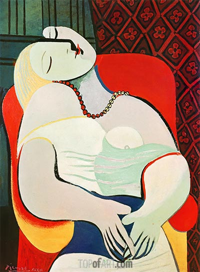 The Dream, 1932 | Picasso | Painting Reproduction