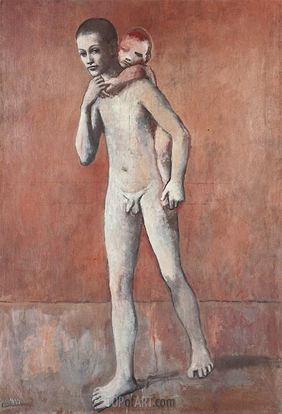 The Two Brothers, 1906 | Picasso | Painting Reproduction