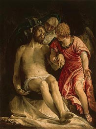 The Lamentation (Pieta), c.1576/82 by Veronese | Painting Reproduction