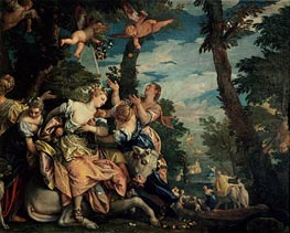 The Rape of Europa, c.1576/80 von Veronese | Gemälde-Reproduktion