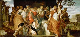 Ointment of David, c.1555/60 von Veronese | Gemälde-Reproduktion