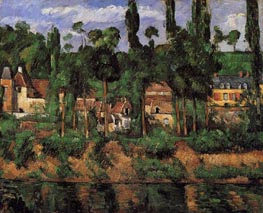 The Chateau at Medan | Cezanne | Gemälde Reproduktion
