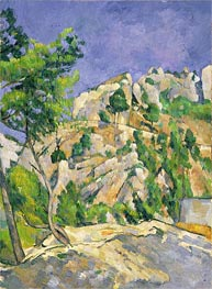 Bottom of the Ravine, c.1879 by Cezanne | Painting Reproduction