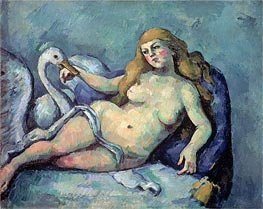 Leda and the Swan | Cezanne | Painting Reproduction