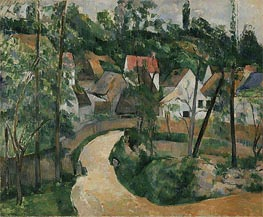 Turn in the Road | Cezanne | Painting Reproduction