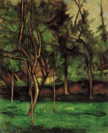 The Orchard | Cezanne | Painting Reproduction