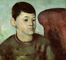 Portrait of Paul Cezanne, the Artist's Son | Cezanne | Painting Reproduction