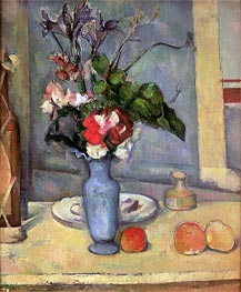 The Blue Vase | Cezanne | Painting Reproduction