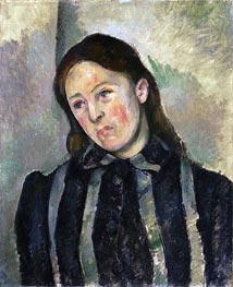Madame Cezanne with Unbound Hair | Cezanne | Painting Reproduction