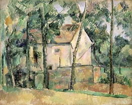 House and Trees | Cezanne | Painting Reproduction