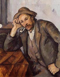 The Smoker | Cezanne | Painting Reproduction