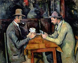 The Card Players | Cezanne | Painting Reproduction