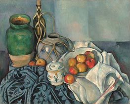 Still Life with Apples, c.1893/94 by Cezanne | Painting Reproduction