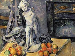 Still Life with Plaster Cupid | Cezanne | Painting Reproduction