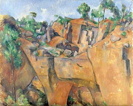The Bibemus Quarry | Cezanne | Painting Reproduction
