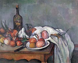 Still Life with Onions | Cezanne | Gemälde Reproduktion