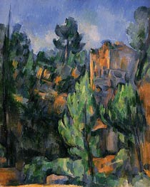 The Bibemus Quarry, c.1898 by Cezanne | Painting Reproduction