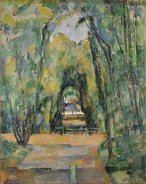 Avenue at Chantilly | Cezanne | Painting Reproduction