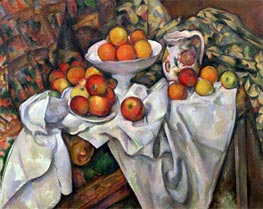 Apples and Oranges, c.1895/00 von Cezanne | Gemälde-Reproduktion
