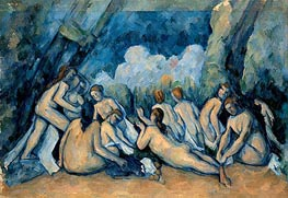 Bathers (Les Grandes Baigneuses) | Cezanne | Painting Reproduction