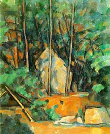 Cistern in the Park at Chateau Noir, c.1900 von Cezanne | Gemälde-Reproduktion