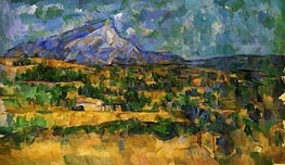 Mont Sainte-Victoire, c.1902/06 by Cezanne | Painting Reproduction