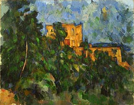 Chateau Noir, c.1900/04 by Cezanne | Painting Reproduction