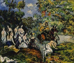 Legendary Scene, c.1878 by Cezanne | Painting Reproduction