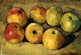 Apples, c.1877/78 by Cezanne | Painting Reproduction