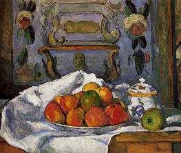 Dish of Apples | Cezanne | Painting Reproduction