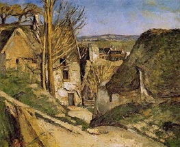 House of the Hanged Man, Auvers-sur-Oise | Cezanne | Painting Reproduction