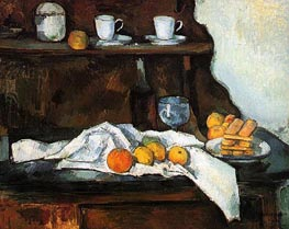 The Buffet | Cezanne | Painting Reproduction